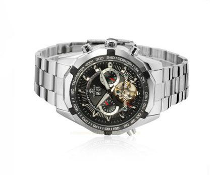 Механические часы с автоподзаводом FORSINING TEXAS (silver-black)