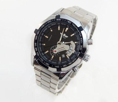 Механические часы с автоподзаводом Winner Сhronometer (black)