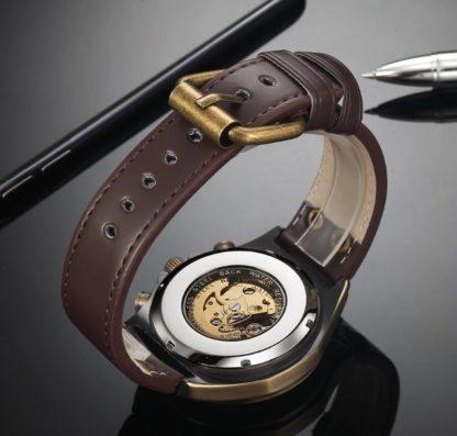 Механические часы с автоподзаводом Winner Vintage (brown)