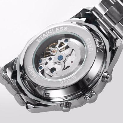 Механические часы с автоподзаводом Winner Timi Black