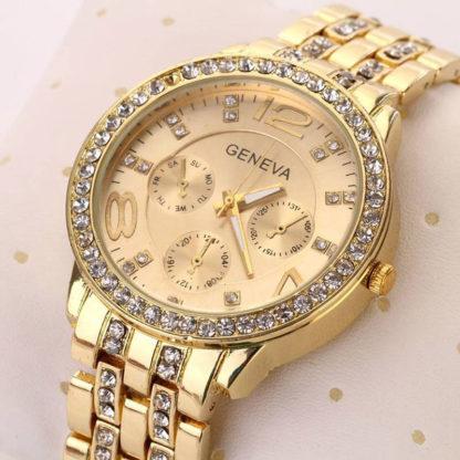 Женские часы Geneva (gold)