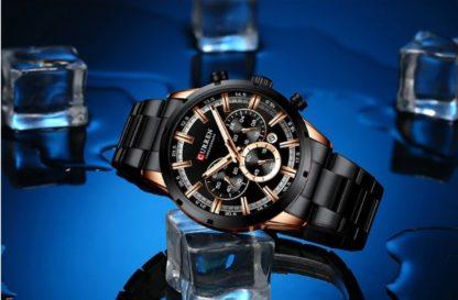 Мужские часы Curren 8355 (black)