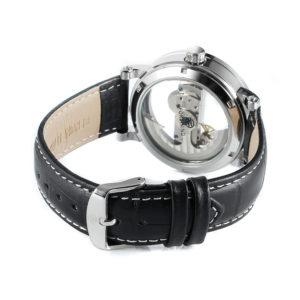 Механические часы Forsining Skeleton Air (silver)