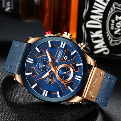 Мужские часы Curren 8346 (blue)