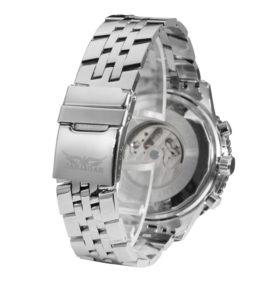 Механические часы с автоподзаводом Jaragar (silver-black)
